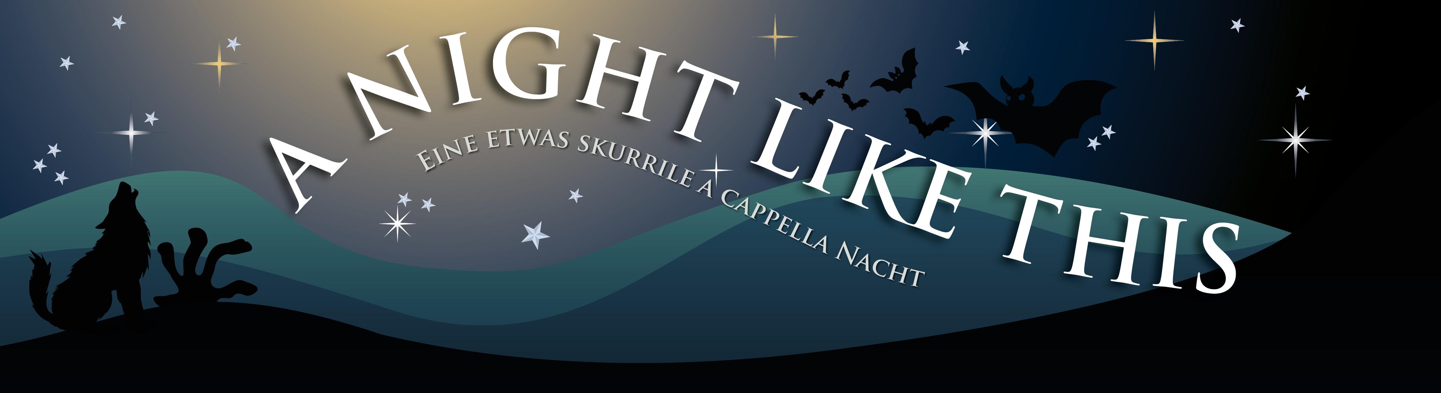 Jetzt Tickets sichern: A night like this - Das Konzert am 3.12.16 in München